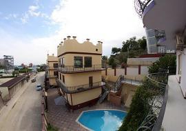 Ладья - Крым Судак гостиница с бассейном  недорогой отдых в Судаке