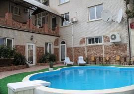 сауна, бассейн, питание, фитнес зал  -    Крым Судак пансионат  бассейн
