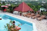 Алушта  пансионат с бассейном