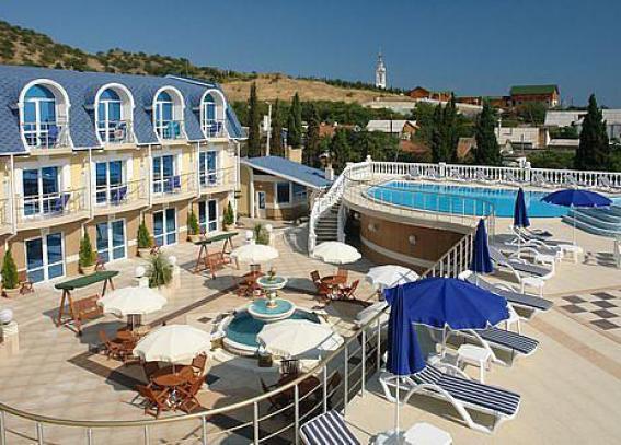 Крым Отдых в Малоркчкнское отель с бассейном , сауна, spa