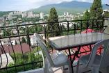 вид на город с балкона