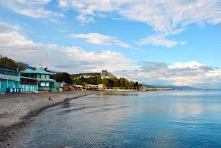 пляж Ласковый берег